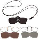 Gafas de lectura tipo Quevedo (Ac. Inox.)