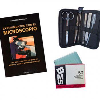 Material de microscopía