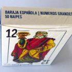 Baraja española números grandes