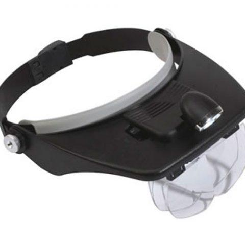 venta Lupa Frontal Doble LED set 4 lentes