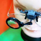 Lupa Soporte para gafas 5x